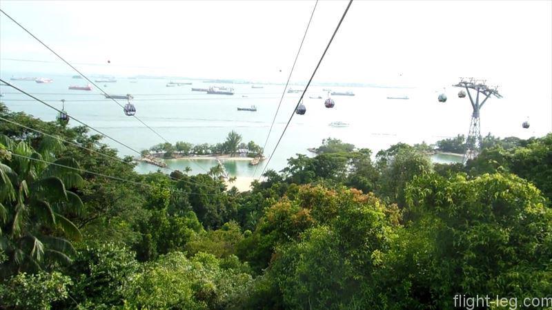 シンガポール セントーサ島 MegaZip