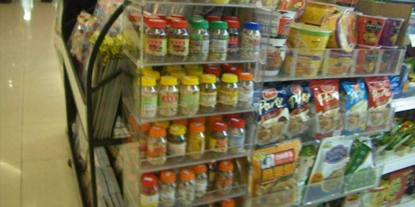 タナメラフェリーターミナル カップ麺