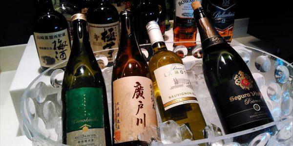 羽田空港国際線サクララウンジ お酒