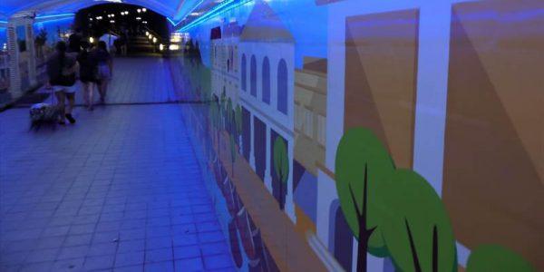 クラーク・キーのアートなトンネル
