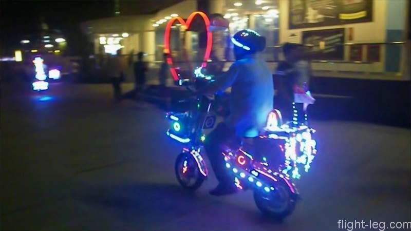 クラーク・キーで見たデコバイク