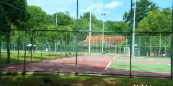 ビンタン・ラグーン・リゾート テニスコート