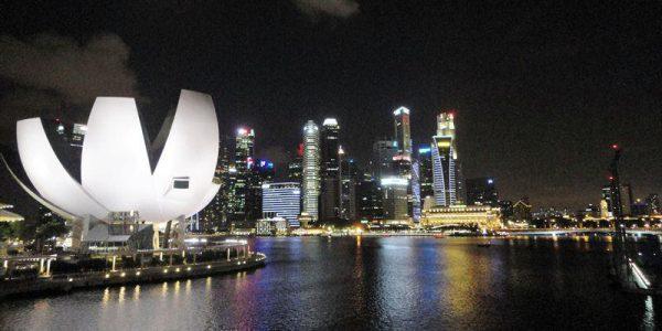 シンガポール ヘリックス橋