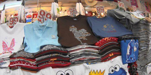 99バーツ均一のTシャツ